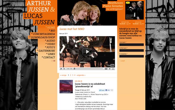 Arthur en Lucas Jussen